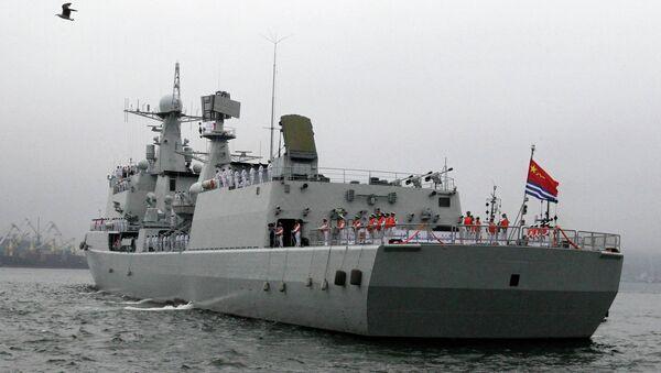 Chinese naval destroyer (Archive) - Sputnik International