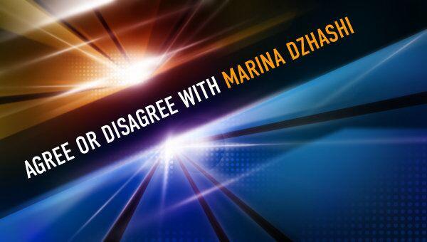 Agree or Disagree with Marina Dzhashi - Sputnik International