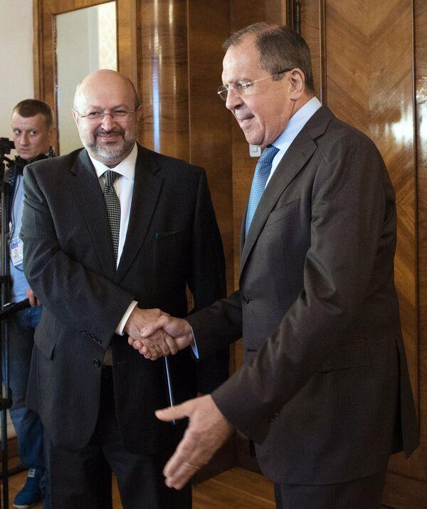 Sergey Lavrov meets with OSCE Secretary General Lamberto Zannier - Sputnik International