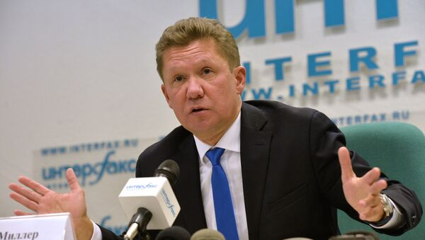 News conference by Energy Minister Alexander Novak and Gazprom CEO Alexei Miller - Sputnik International