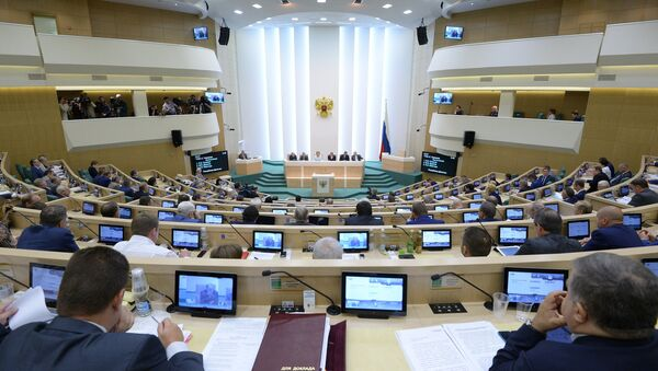 In line with the rest of the government and the lower house of parliament, the Russian Federation Council has stepped out in favor of taking a 10 percent pay cut. - Sputnik International