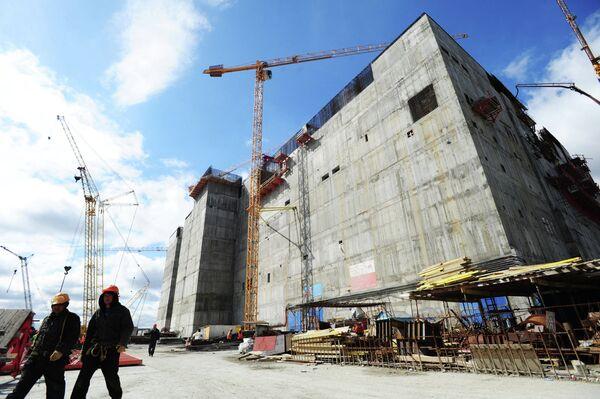 Construction of the BN-800 power unit at the Beloyarskaya NPP (Archive) - Sputnik International