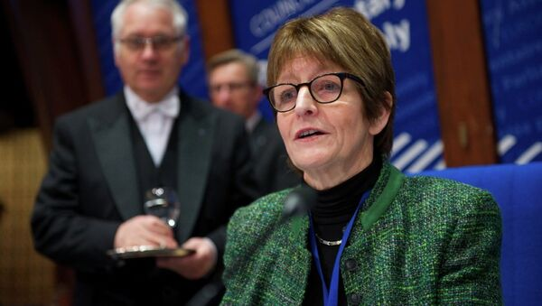 Anne Brasseur, President of the Parliamentary Assembly of the Council of Europe (PACE) - Sputnik International