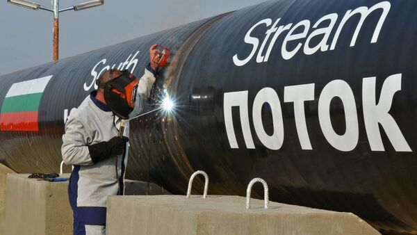 A Bulgarian delegation will visit Moscow on December 19 to discus the possible continuation of the South Stream gas pipeline construction project: minister - Sputnik International