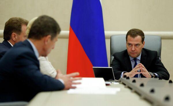 Dmitry Medvedev chairs meeting with his deputies - Sputnik International