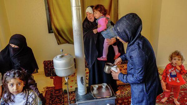 Syrian refugees in Lebanon - Sputnik International