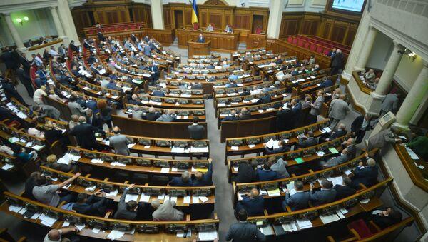 Verkhovna Rada of Ukraine holds meeting - Sputnik International