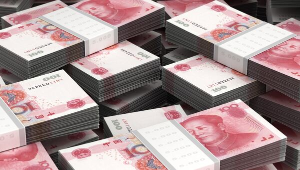 The trading volume of the Chinese yuan on the Moscow stock exchange has been growing rapidly as a result of Russia's strengthening ties with China. - Sputnik International