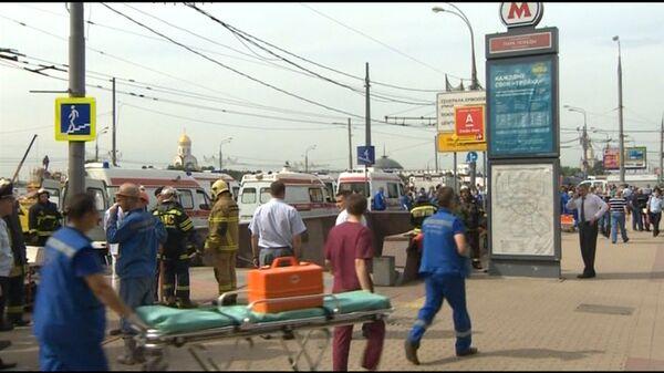 Moscow Metro carriage derails, up to 19 dead - Sputnik International