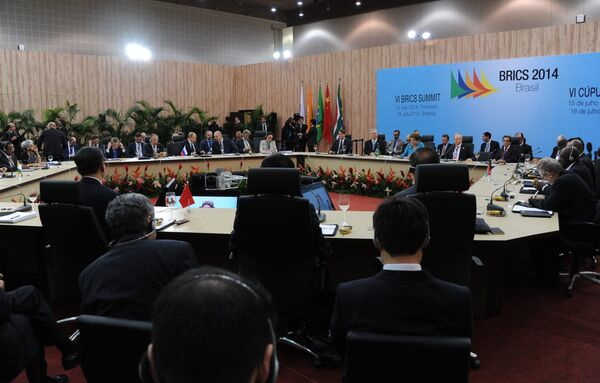 BRICS Leaders Challenge Global Financial Order by Creating Emergency Reserve Fund - Sputnik International