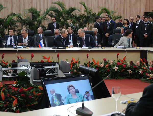 BRICS summit in Brazil - Sputnik International