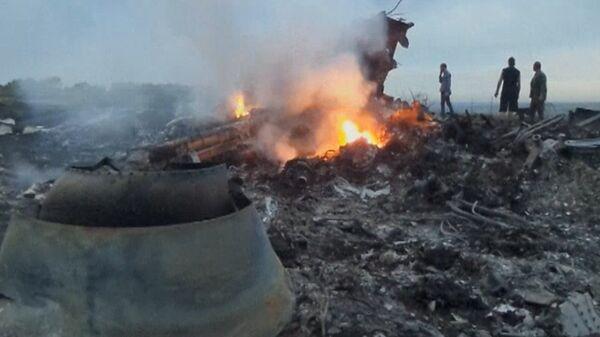 Crash site of Malaysian Boeing 777 in Ukraine - Sputnik International