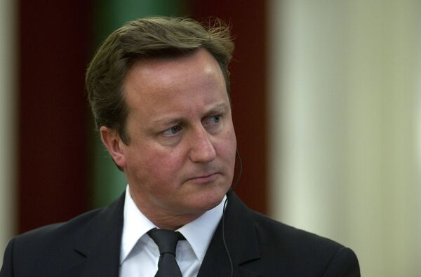 UK Prime Minister David Cameron - Sputnik International
