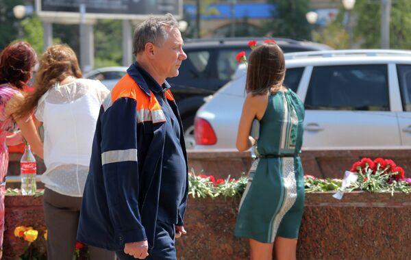 Ivan Besedin visits site of Moscow Metro accident - Sputnik International