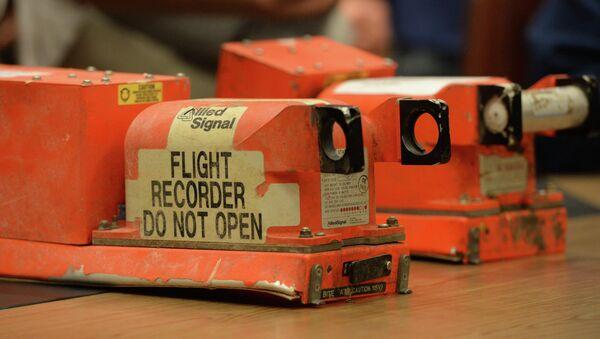 MH17 Flight Recorders - Sputnik International