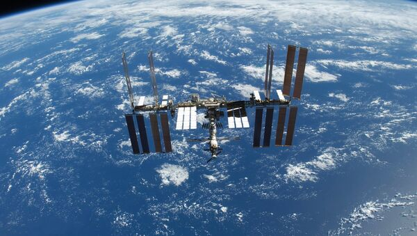 The Russian M-24M cargo resupply spacecraft, will undock from the International Space Station (ISS) on October 27. - Sputnik International