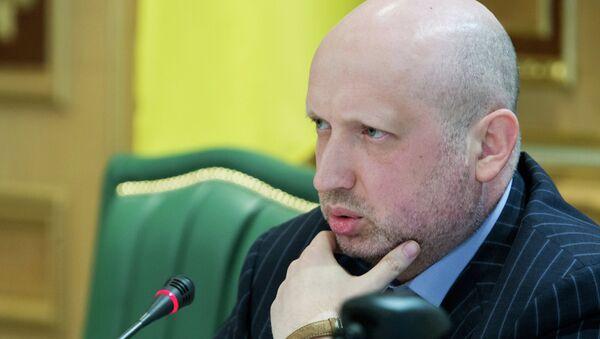 Oleksandr Turchynov holds meeting in Kiev with heads of regions - Sputnik International