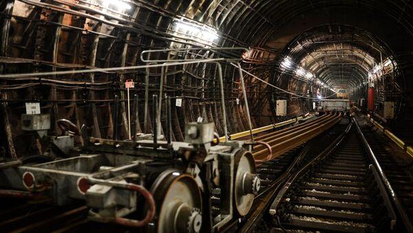 Moscow Metro Railway - Sputnik International
