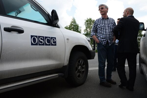 Russia Disappointed at Kiev, West for Hampering OSCE Mission to Ukraine - Sputnik International