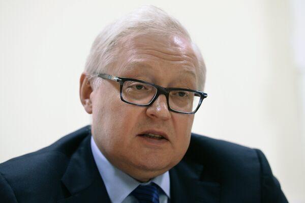 Russian Deputy Foreign Minister Sergei Ryabkov - Sputnik International