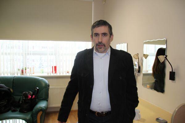 Leader of Latvia's For Native Language party Vladimir Linderman - Sputnik International