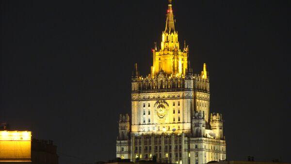 Russian Foreign Ministry building - Sputnik International