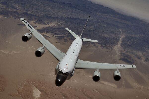 RC-135 Rivet Joint reconnaissance aircraft - Sputnik International