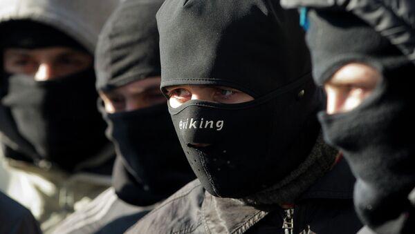 Right Sector Activists - Sputnik International