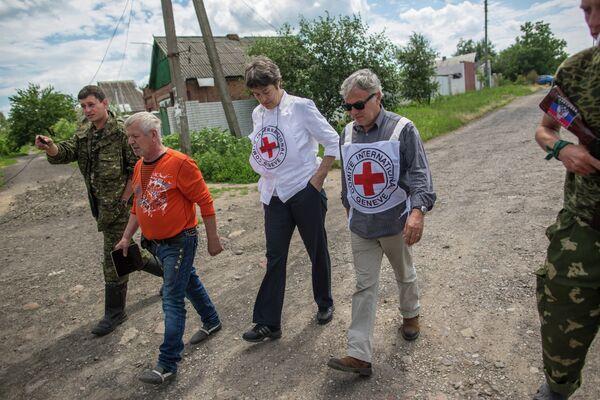 International Red Cross mission in Ukraine - Sputnik International