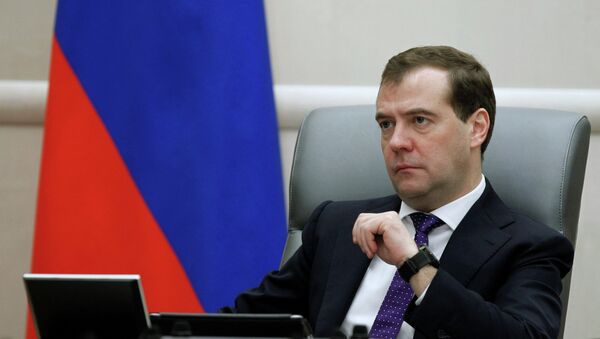 Russian PM Dmitry Medvedev said in an interview with CNBC that US sanctions have seriously damaged Russian-US ties, and any suggestion of a reset was out of the question. - Sputnik International