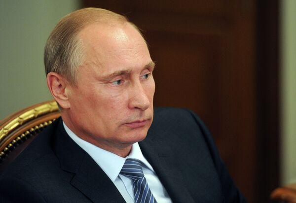 Russian President Vladimir Putin. - Sputnik International