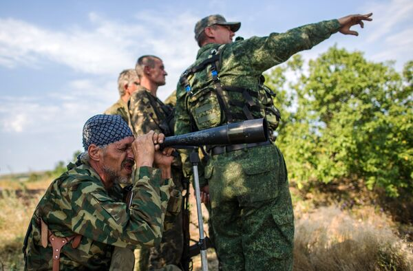 In light of the upcoming deployment of drones on the border the DPR Defense Ministry stressed that it is not technically possible to identify drones but the information they may carry can be intercepted by Ukraine's Special Forces. - Sputnik International