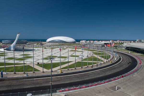 Sochi Autodrom will host Russia's first Formula 1 Grand Prix October 12. - Sputnik International
