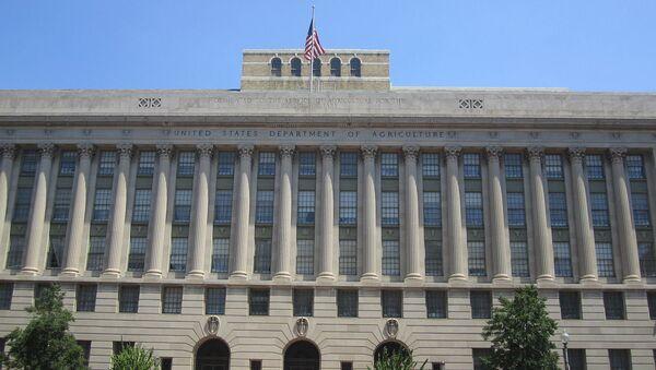The building of the US Department of Agriculture (USDA)., Washington, D.C. - Sputnik International