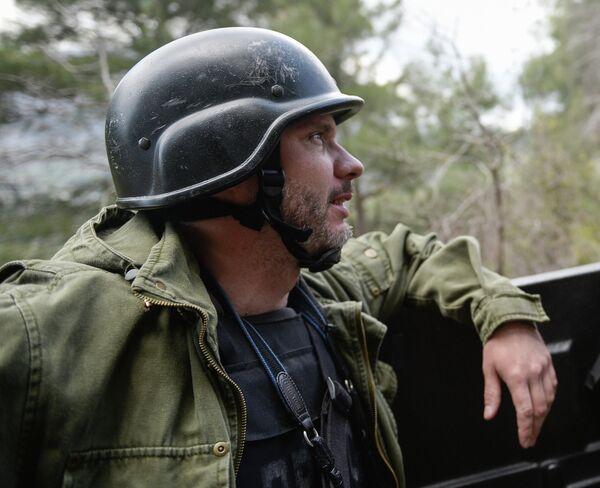 Rossiya Segodnya photographer Andrei Stenin - Sputnik International