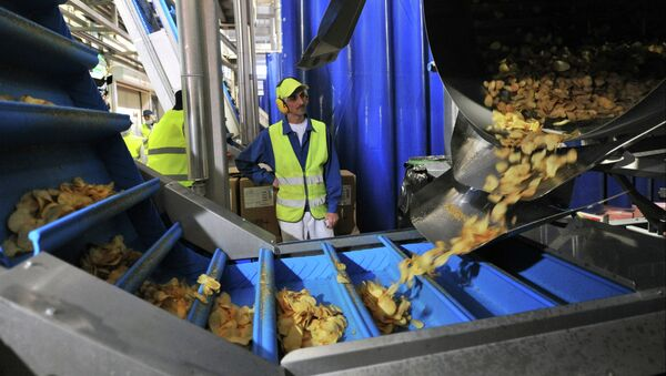 PepsiCo launches second potato chips production line in Rostov Region - Sputnik International