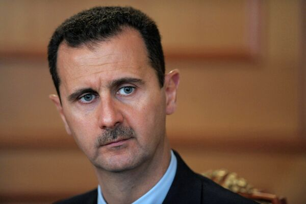 Terrorism in Syria cannot be combated by the countries, which feed it, Syrian President Bashar Assad said Tuesday. - Sputnik International