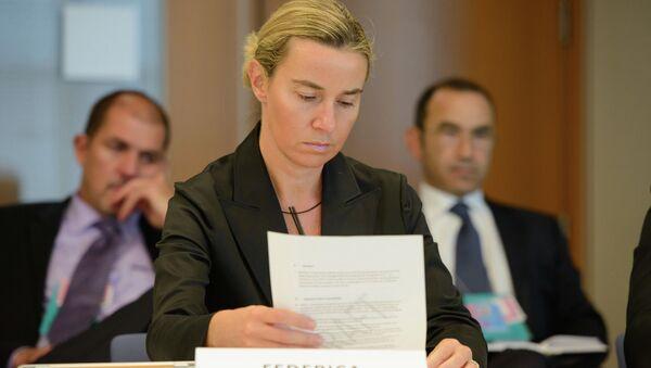Federica Mogherini, EU's next High Representative for Foreign Affairs and Security Policy, has a rich record of political achievements. - Sputnik International