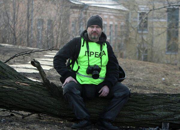 Photojournalist of International Information Agency Rossiya Segodnya Andrei Stenin - Sputnik International