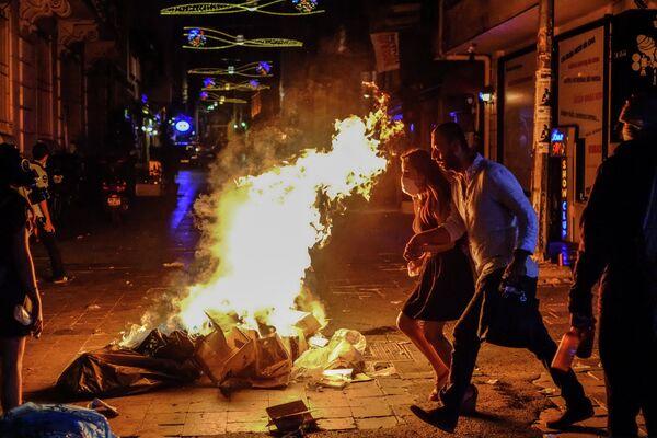 Protests in Turkey - Sputnik International