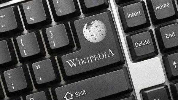 Wikipedia logo - Sputnik International