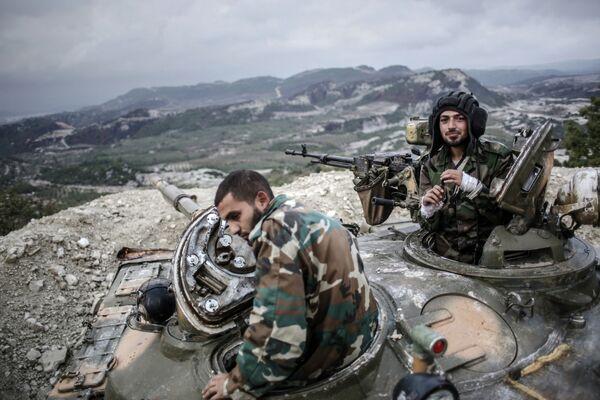 Syrian Army has killed 37 Islamic State (IS) militants in the northeastern province Deir al-Zor. - Sputnik International