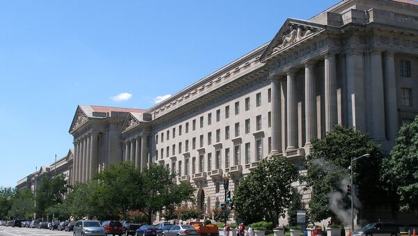 The headquarters of the United States Environmental Protection Agency in Washington, DC - Sputnik International