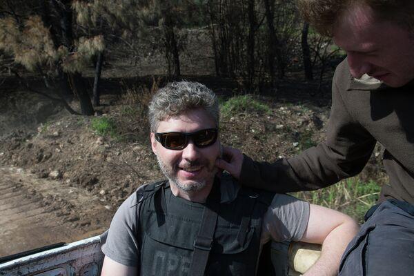 Photo correspondent of the International Information Agency Rossiya Segodnya Andrei Stenin - Sputnik International