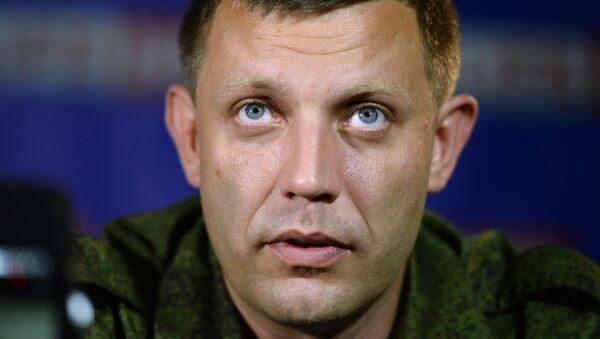 Prime Minister of the self-proclaimed Donetsk People's Republic Alexander Zakharchenko - Sputnik International