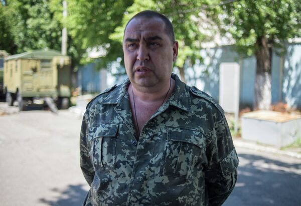 Former Defense Minister of the self-proclaimed Luhansk People's Republic, Igor Plotnitsky. - Sputnik International