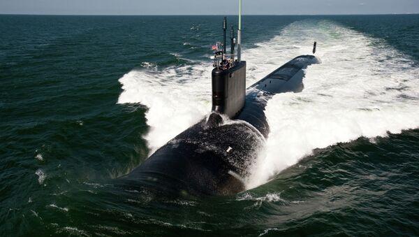 The Virginia-class fast-attack submarine USS California - Sputnik International