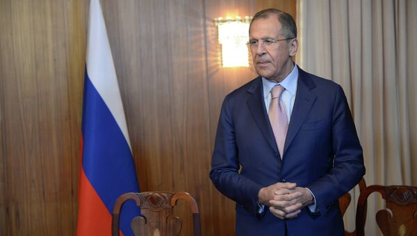 Russian Foreign Minister Sergei Lavrov comments on accusations of Russia's attempts to escalate the crisis in Ukraine. - Sputnik International