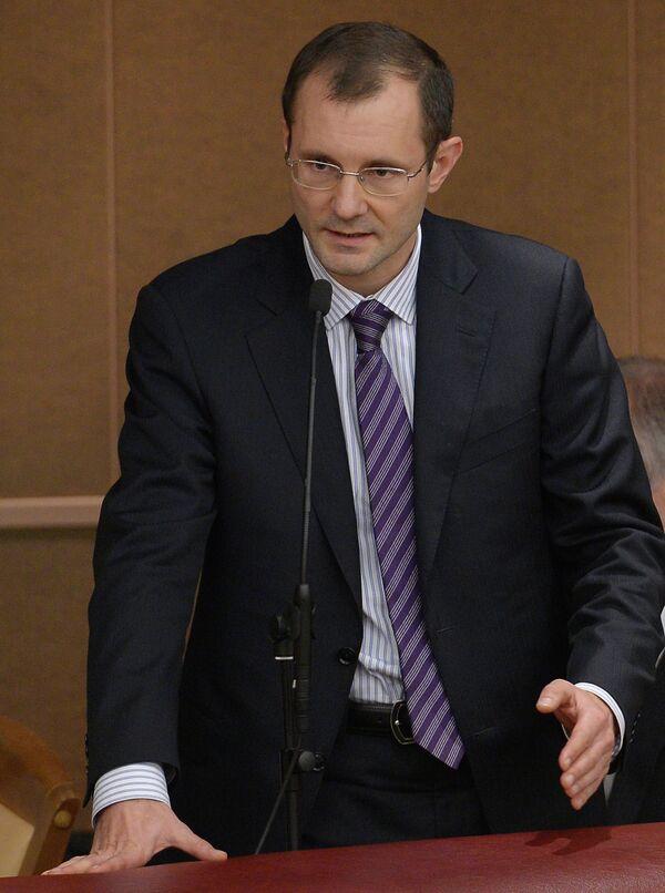 Deputy governor of the Central Bank of Russia (CBR) Vladimir Chistyukhin, - Sputnik International