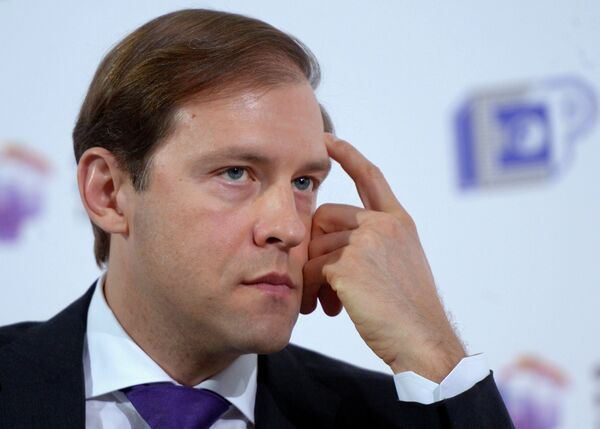 Western powers are unlikely to impose sanctions against Russia's industrial sector, Russian Industry and Trade Minister Denis Manturov said. - Sputnik International